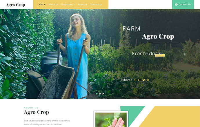 Charcoal-1 - 65+ Amazing Free CSS HTML5 Website Design Templates [year]