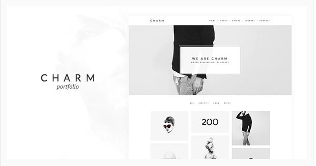 Charm - 36+ Amazing Tumblr Style WordPress Themes For Developer [year]