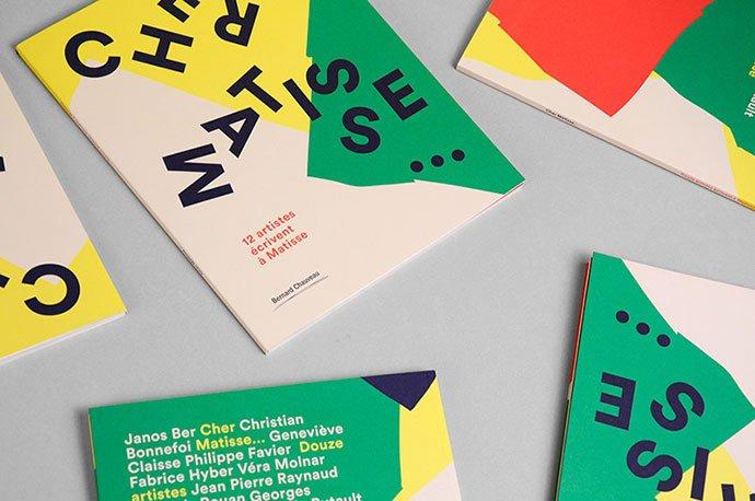 Cher-Matisse - 63+ Surprising Typography In Magazine & Book Designs [year]