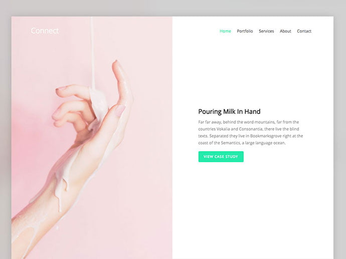 Connect - 65+ Amazing Free CSS HTML5 Website Design Templates [year]