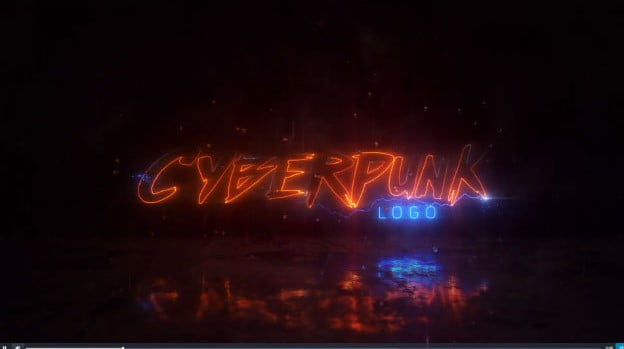 Cyberpunk-1 - 51+ Marvelous After Effects Logo Animation Templates [year]