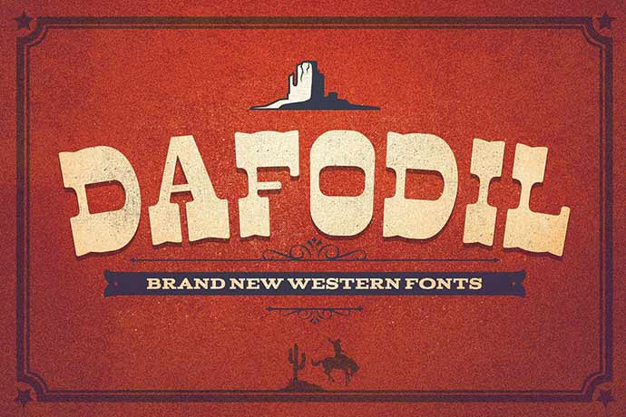 Dafodil-Extra - 56+ Awesome Free Movie Poster Title Extra Bold Fonts [year]