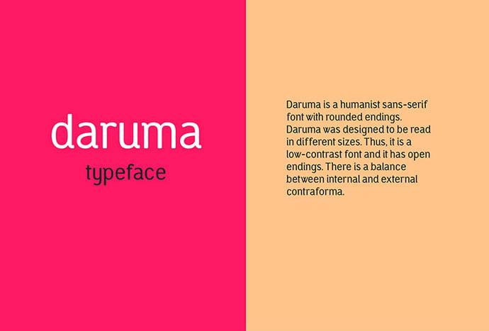 Daruma - 36+ Free Quality Sans-Serif Designer Fonts [year]