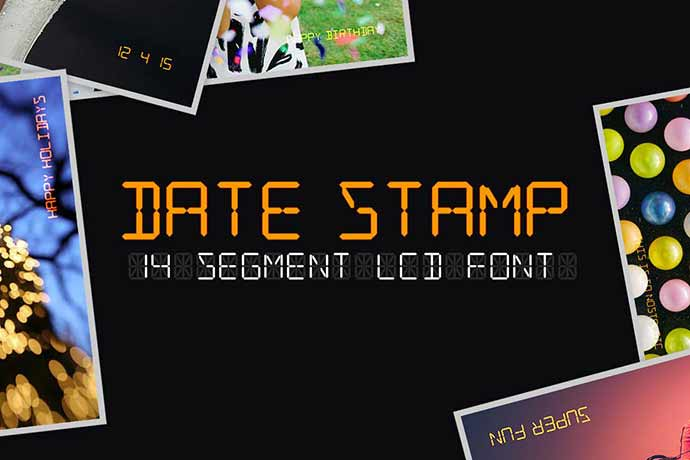 Date-Stamp - 56+ Awesome Free Movie Poster Title Extra Bold Fonts [year]