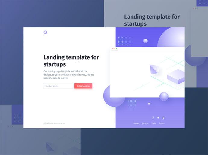 Davide-Pacilio - 65+ Amazing Free CSS HTML5 Website Design Templates [year]