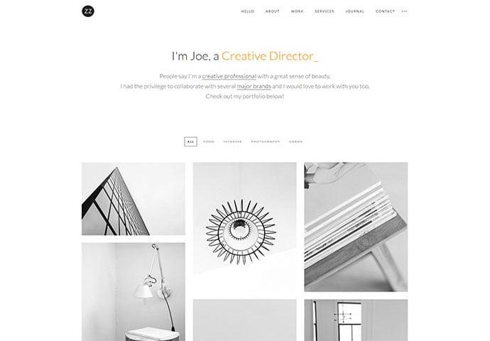Dazzle - 41+ Awesome Logo Designer WordPress Themes [year]