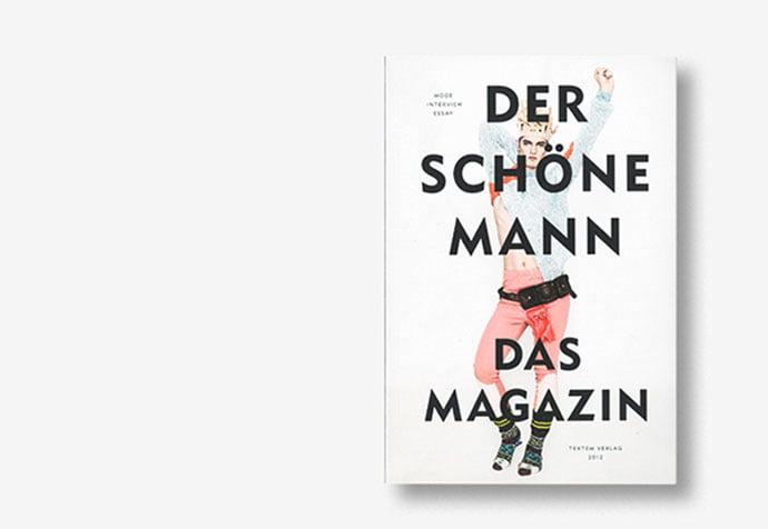 Der-schöne-Mann - 63+ Surprising Typography In Magazine & Book Designs [year]