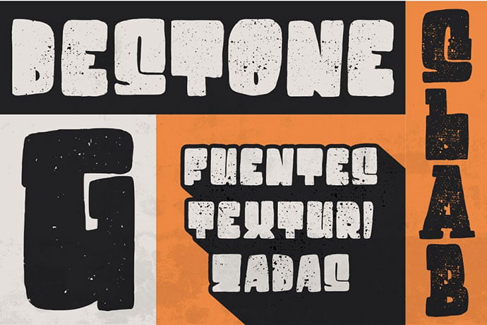 Destone - 32+ Honestly Impressive Distorted Fonts [year]