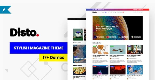 Disto - 36+ Inspiring Best Coaching WordPress Themes [year]