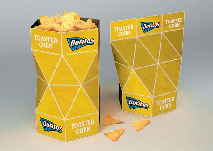Doritos-Packaging-Concept - 38+ Awesome Free Packaging Designs that Automatically Sell [year]