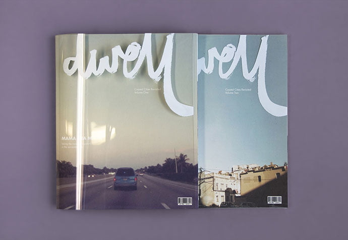 Dwell - 63+ Surprising Typography In Magazine & Book Designs [year]