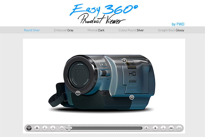 Easy-360°-Product-Viewer - 26+ Amazing 360 Degree Image & Video Javascript Plugins [year]