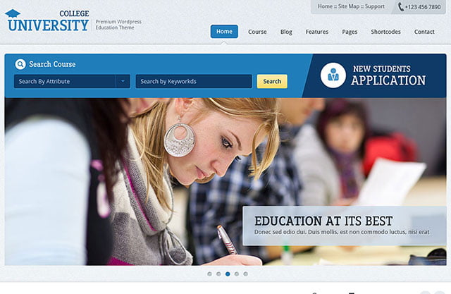 Education-Academy - 51+ Top Best WordPress Themes For Education [year]