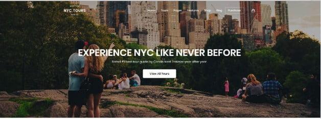 Embark - 36+ Nice Tour & Travel Business WordPress Themes [year]