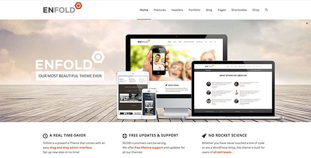 Enfold - 31+ Top WordPress Themes For Drag and Drop [year]