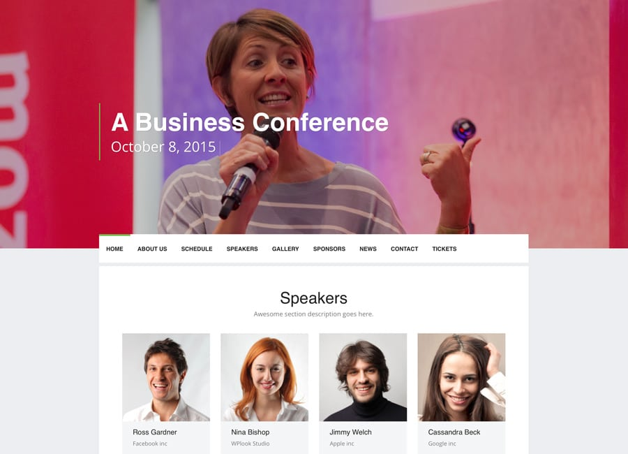 Event-1 - 41+ Top Awesome WordPress Themes For Events [year]