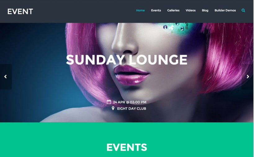 Event - 41+ Top Awesome WordPress Themes For Events [year]