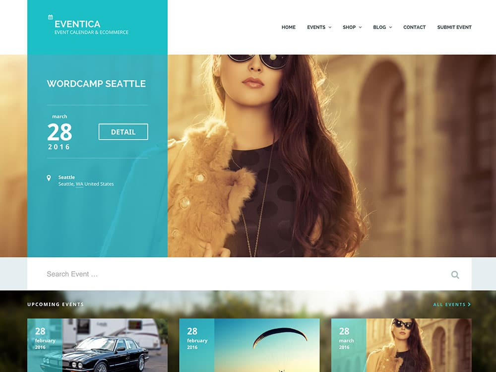 Eventica - 41+ Top Awesome WordPress Themes For Events [year]