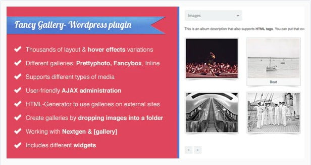Fancy-Gallery - 28+ Awesome Gallery Plugins For WordPress [year]