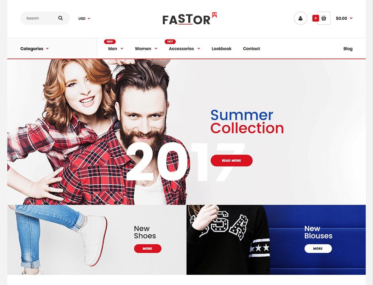 Fastor - 41+ Awesome Shopify Themes For Your Business [year]
