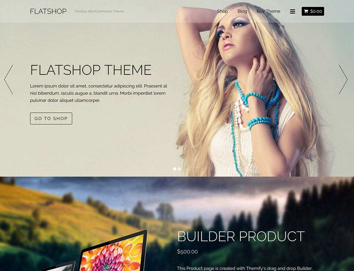 Flatshop - 46+ Top Best WordPress Themes For Ecommerce [year]