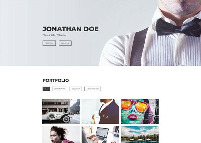 Focus - 65+ Amazing Free CSS HTML5 Website Design Templates [year]