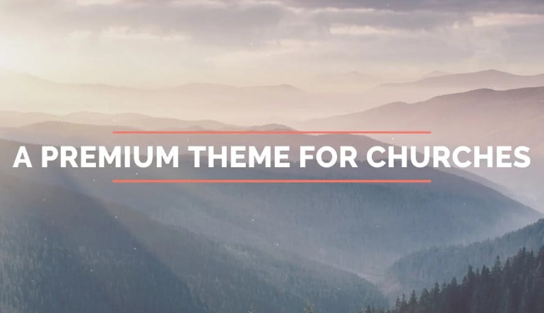 Forgiven - 31+ Inspiring Modern Church WordPress Themes [year]