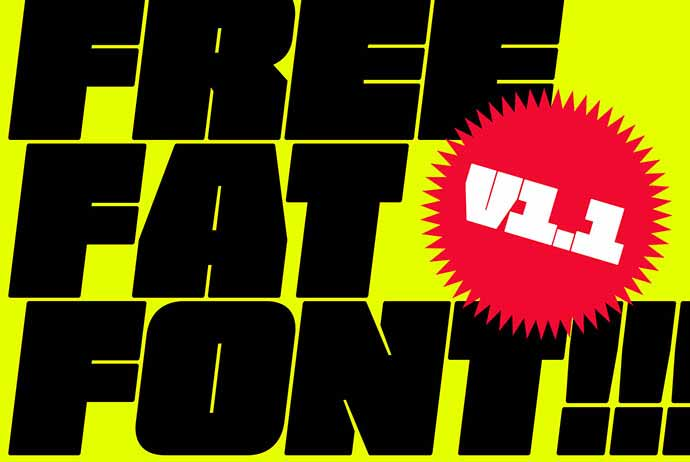 Free-Fat-Font - 56+ Awesome Free Movie Poster Title Extra Bold Fonts [year]