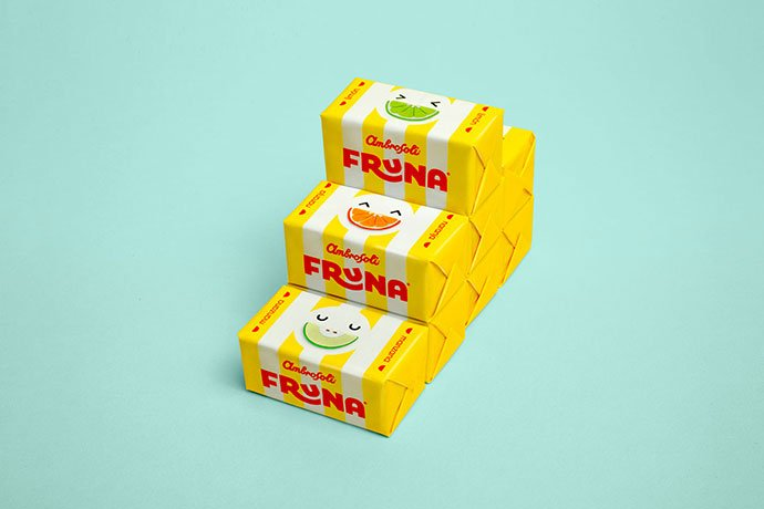 Fruna - 38+ Awesome Free Packaging Designs that Automatically Sell [year]