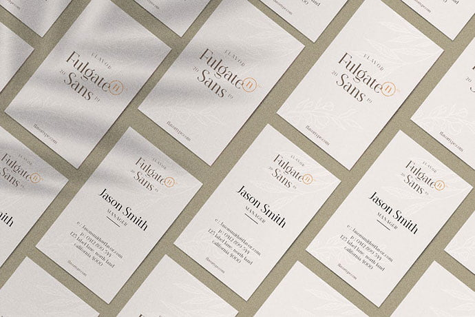 Fulgate-Business-Card - 46+ Photographer, Artist & Designer Business Card Templates [year]