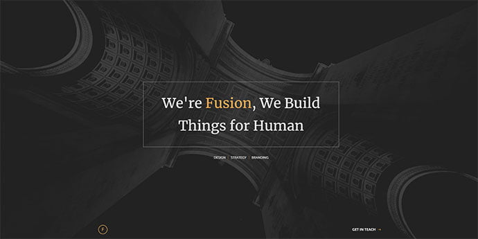 Fusion - 65+ Amazing Free CSS HTML5 Website Design Templates [year]