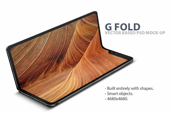 G-Fold-Smartphone-Psd-Mock - 51+ Amazing iOS and Android Phone PSD Mockup Templates [year]