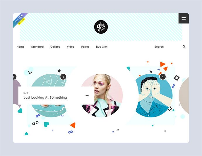 Gliu-Enjoy-The-Creativity-1 - 33+ WordPress Themes To Make Your Blog Attractive [year]