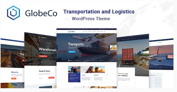 GlobeCo - 36+ Stunning WordPress Themes For Transportation [year]