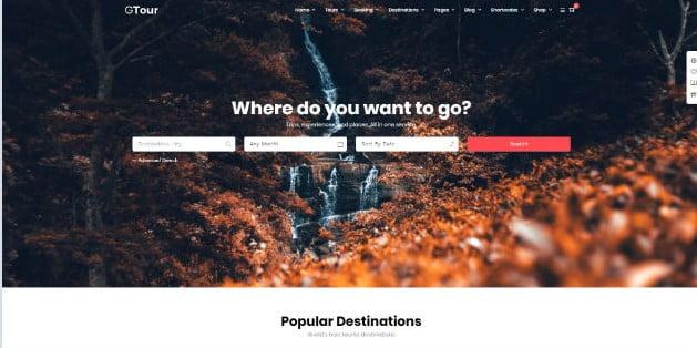 Grand-Tour - 36+ Nice Tour & Travel Business WordPress Themes [year]