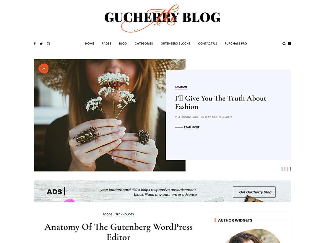 Gucherry-Blog