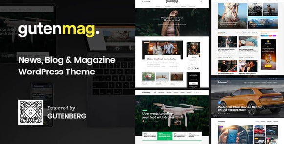 GutenMag - 33+ WordPress Themes To Make Your Blog Attractive [year]