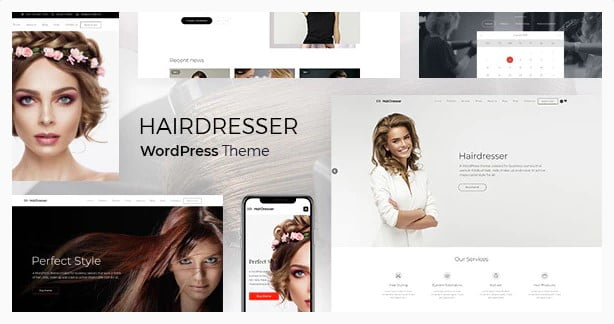 Hairdresser - 31+ Best Hairdresser & Portfolio WordPress Themes [year]