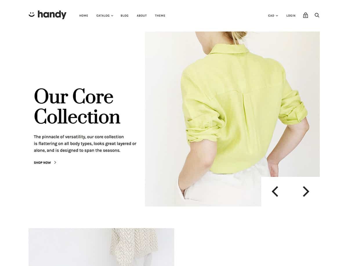 Handy - 41+ Awesome Shopify Themes For Your Business [year]