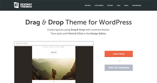 Headway - 31+ Top WordPress Themes For Drag and Drop [year]