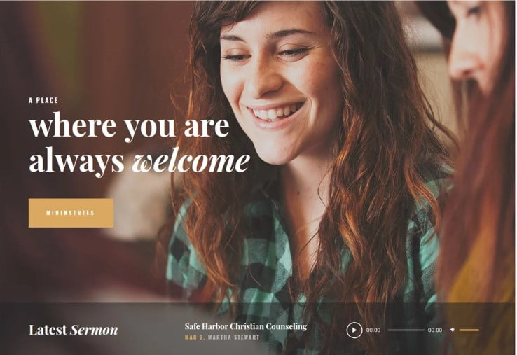 Holy-Church - 31+ Inspiring Modern Church WordPress Themes [year]