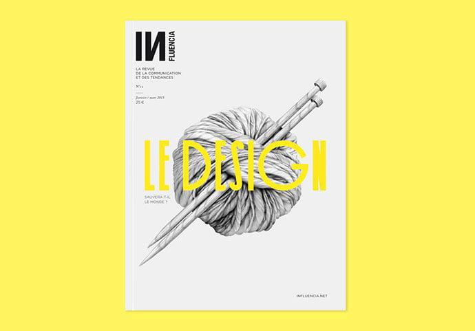 INFLUENCIA - 63+ Surprising Typography In Magazine & Book Designs [year]