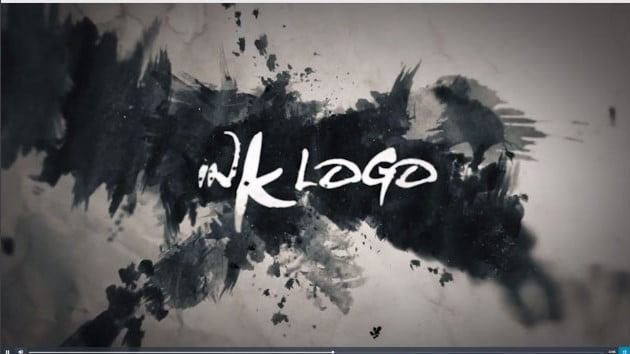 Ink-Logo - 51+ Marvelous After Effects Logo Animation Templates [year]