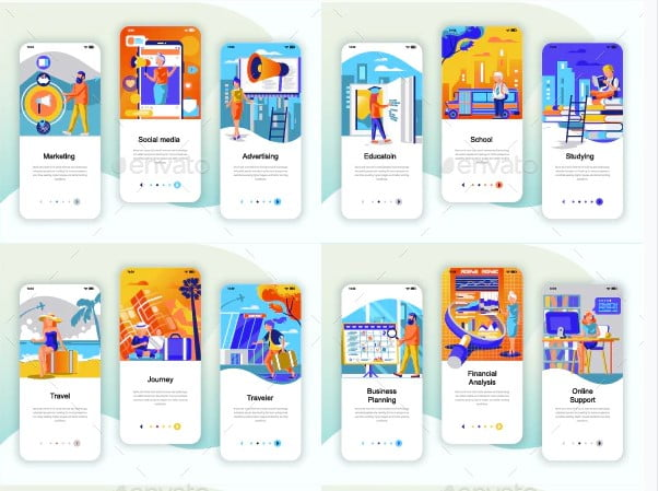 Instagram-Stories-Mobile-App - 51+ Best Free Onboarding UI Mobile App Sample [year]