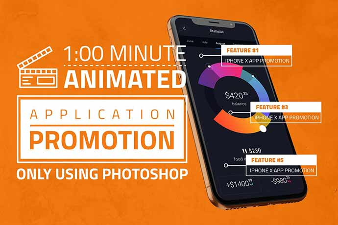 Iphone-X-App-Promotion - 51+ Amazing iOS and Android Phone PSD Mockup Templates [year]