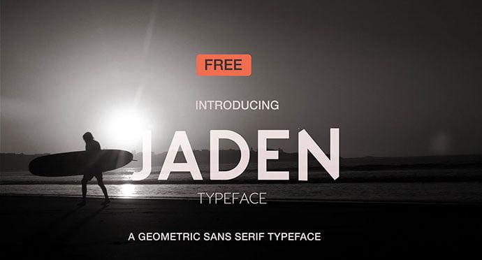 Jaden - 36+ Free Quality Sans-Serif Designer Fonts [year]