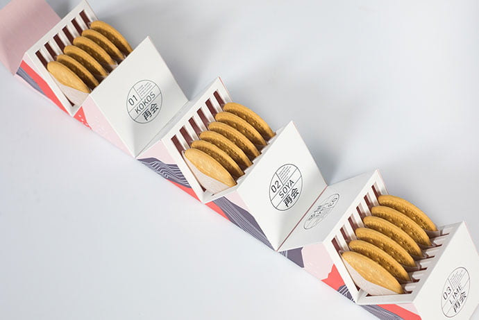 Japanese-Fika-Packaging-Project - 38+ Awesome Free Packaging Designs that Automatically Sell [year]