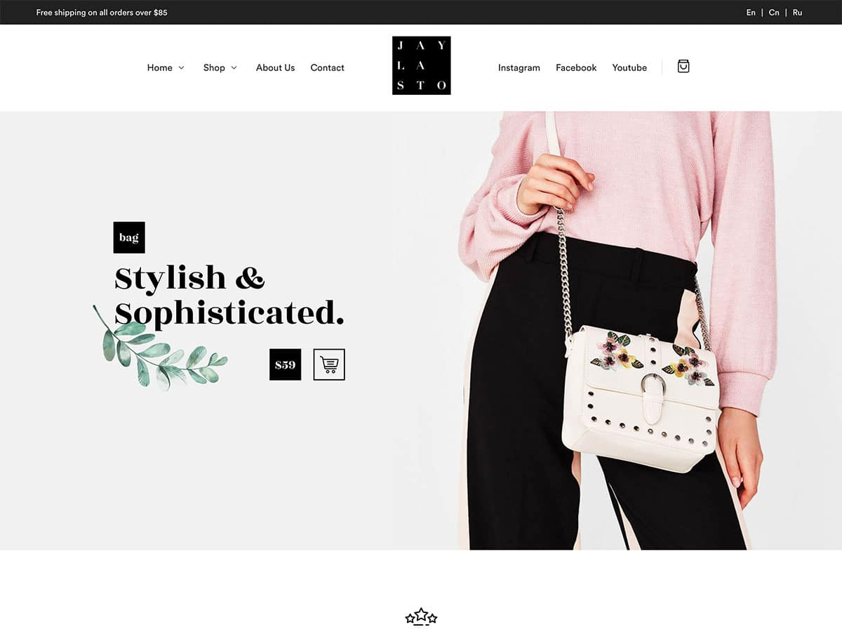 Jayla - 46+ Top Best WordPress Themes For Ecommerce [year]