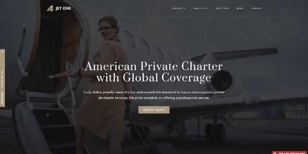 Jet-One - 36+ Nice Tour & Travel Business WordPress Themes [year]