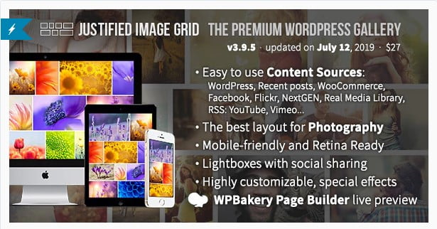 Justified-Image-Grid-1 - 28+ Awesome Gallery Plugins For WordPress [year]